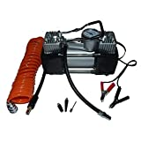 Best Portable Air Compressors - Portable Mini Air Compressor Heavy Duty Twin Piston Review