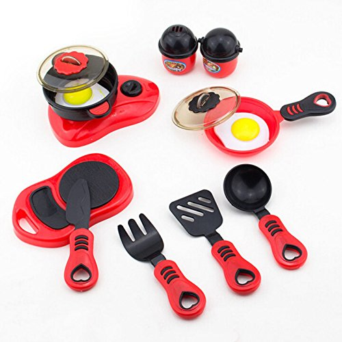 Generic Child Kid Plastic Kitchen Ware Cooking Pretend Play Kitchen Toys Cooking Stove Kitchen Play House