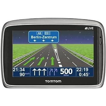 TomTom Go 950 Live 12M Navigationsgerät (10,9 cm (4,3 Zoll) Display, 47 Länderkarten, 12 Monate HD Traffic)
