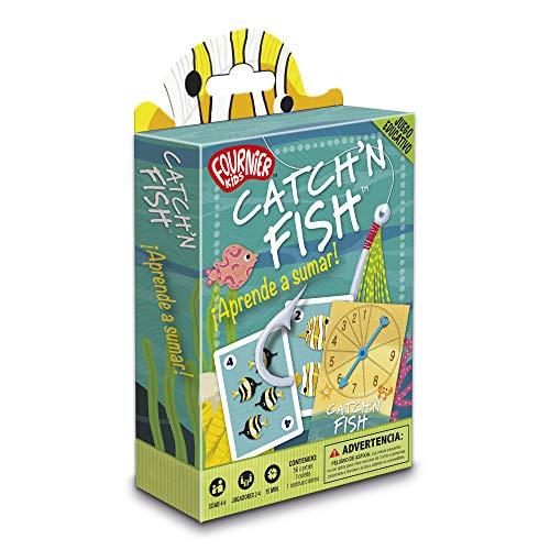 Fournier Catch´n Fish. Aprende a Sumar Juego de Cartas Educativo Infantil 1040718