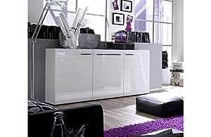 Buffet design laqué blanc New York A