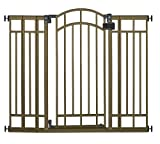 Summer Multi-Use Deco Extra Tall Walk-Thru Gate, Bronze