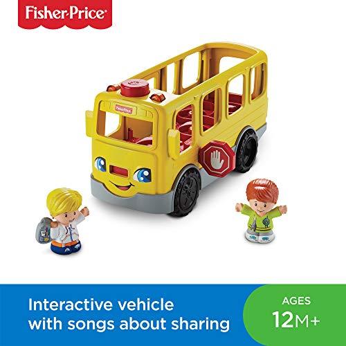 Fisher-Price fkc67Little People Sit with Me Schule Bus Aktivität Spielzeug