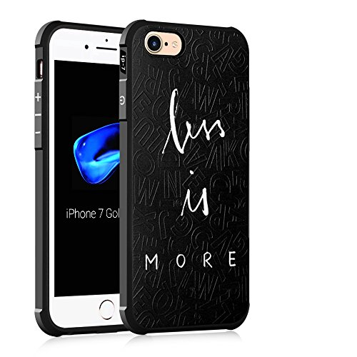 """Gukas Design Housse Coque TPU Silicone Case Etui Cover Pour Apple iPhone 7 / iphone 8 4.7"""" Gel Ultra Slim Soft Bumper Protective Rubber Shock Absorber Flexible (Starry Sky) More"""