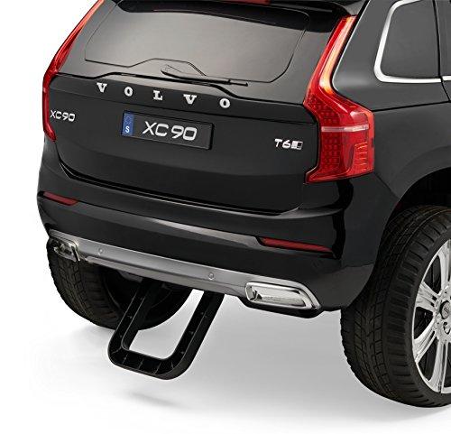 Volvo Xc90 Elektrisches Auto Für Kinder Schwarz 24ghz