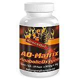 US Testo Booster auf NO2-Basis by KnockOut-Nutrition - AnabolicOxygen-Matrix - 180 Kapseln