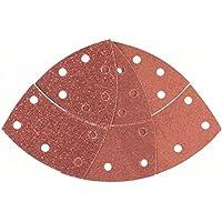 Bosch 2 609 256 A67 - Juego de hojas de lija de 10 piezas para lijadora múltiple