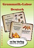 Grammatik-Labor Deutsch, 1 CD-ROM Lehrerlizenz. Für Jahrgangsstufe 4-7. Für Windows 98