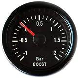 Impulsar la indicación de la presión 52mm Retro Oldschool Instrumento adicional universal