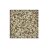 25 kg Steinteppich / Marmorkies versch. Farben inkl. Bindemittel 2-4 mm ausreichend für 2,3 m² direkt vom KiesKönig® Arabescato