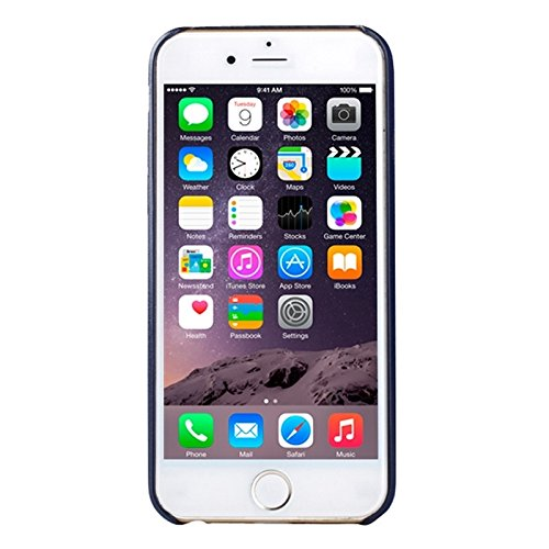 GHC Cases & Covers, Ultra-dünner schützender lederner rückseitiger Abdeckungs-Fall für iPhone 6 u. 6S ( SKU : S-IP6G-0413F ) S-IP6G-0413D
