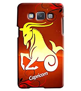 Clarks Sunsign Capricon Hard Plastic Printed Back Cover/Case For Samsung Galaxy A3