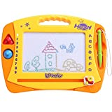 Arshiner Kids Magnetic Drawing Board Game for Baby Toddler Colorful Erasable Large Size Doodle Sketch(Gift for Kids)