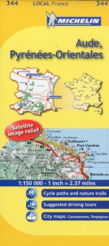 Michelin Aude, Pyrenees-Orientales: Local France