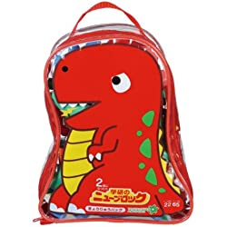 New block dinosaur bag (japan import) by Gakken