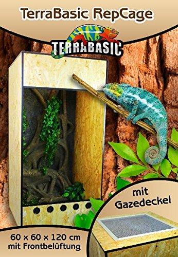 TerraBasic RepCage 60x60x120, Gazedeckel