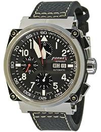 Formex 4Speed–Reloj de pulsera para hombre XL as1100Cronógrafo Automático Piel 1100.1.8020