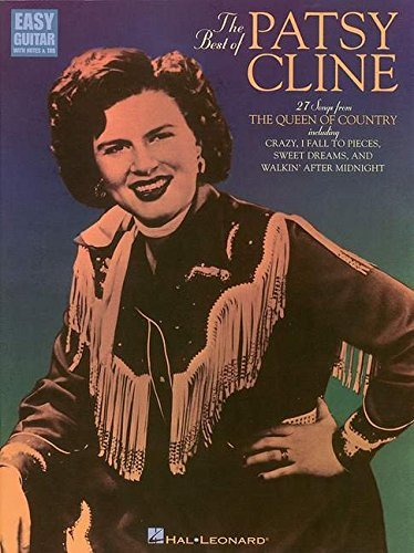 BEST OF PATSY CLINE FOR EASY GUITAR W/TAB by Patsy Cline (1997-10-01)