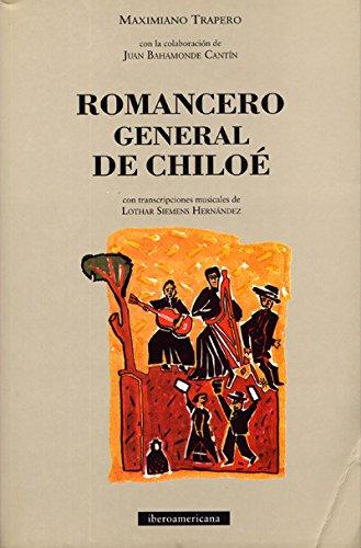 Descargar Libro Romancero general de chiloe de Maximiano Trapero
