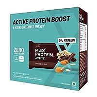 RiteBite Max Protein Active Choco Slim Bars 402g Pack of 6 (67g x 6)