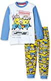 Universal Pictures Boy's Minions Pyjama Set, Blue, 4 Years