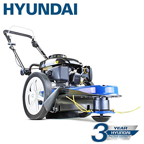 Hyundai Petrol Push Field Grass Trimmer/Strimmer HYFT56, Blue