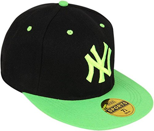 30% OFF on Buy 99shopo Black   Green Hip Hop Cap Online India on Amazon  a75ccd52619
