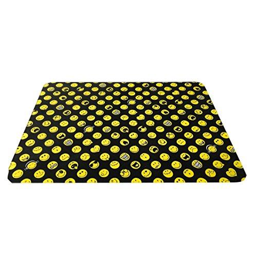 Zak Designs 6727-026 Planche à découper Verre trempé, Noir, 40 x 30 x 0,5 cm