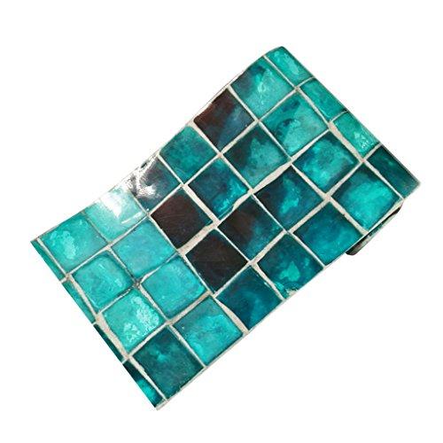 Homyl Mosaik Fliesenaufkleber Fliesenbild Fliesen Aufkleber Sticker Badezimmer Bad Folie, 20x500cm - 003 (Badezimmer Mosaik Fliesen)