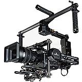IKAN GR-T03 Gravity 3-Axis Handheld Gimbal System für Cinema Kamera/DSLR mit Motion Mimicking Control System und Hard Case schwarz