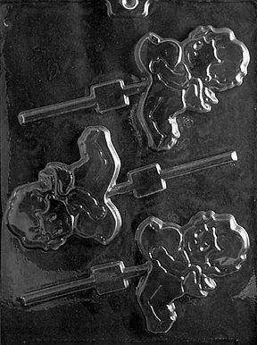 (Cybrtrayd Aufklappbarer Eichel V109Amor mit Herz Lolly Valentine Schokolade Candy Form von Cybrtrayd)