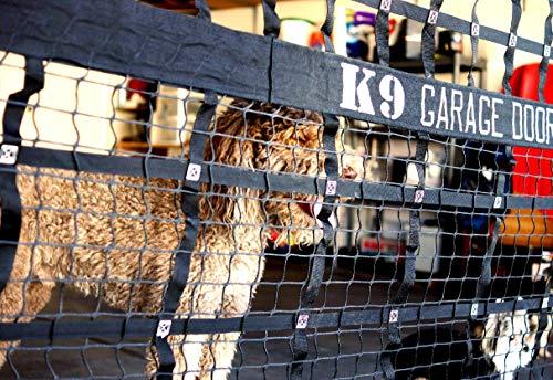 K9 862491000231 Hundehütte für Garagentor, Schwarz