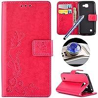 Custodia per LG K4, Etsue lusso di stile del fiori