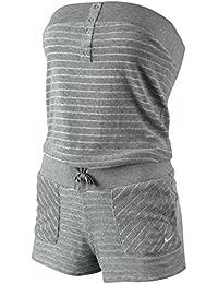 Nike Jaquard Stripe Terry Cover Up 47452063Traje de jogging para mujer moda, mujer, gris