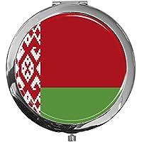 """metALUm - Extragroße Pillendose in runder Form""""Flagge Weißrussland"""" preisvergleich bei billige-tabletten.eu"""