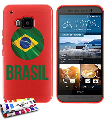 custodia-flessibile-finissima-rossa-originale-di-muzzano-dal-modello-pallone-da-calcio-brasil-per-ht