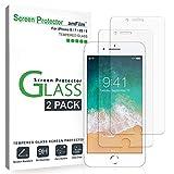 amFilm Displayschutzfolie aus Hartglas für iPhone 8, 7, 6S, 6 (4,7 Zoll), 2 Stück