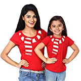 Best Shirts Mother Daughter - Bon Organik Christmas Scarves, Mom And Daughter Matching Review