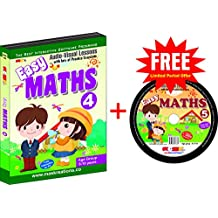 Easy Maths-4 - Avail the offer of FREE CD of Class 5 - Limited period