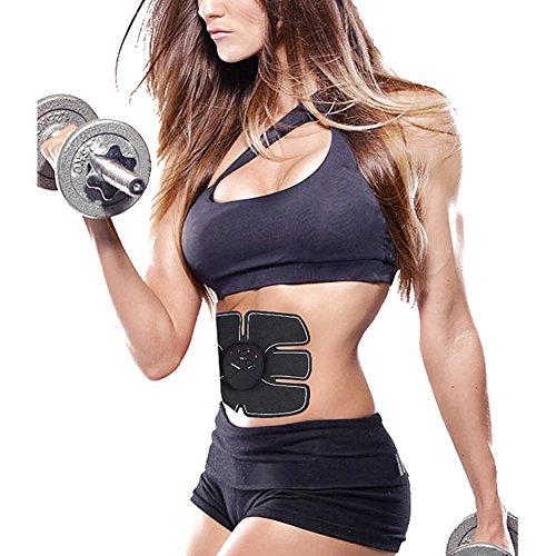 Fitness Massagegeräte & Elektrostimulatoren - Juleya EMS Muskel Trainer Wireless-Body Gym Workout Home Office Fitnessgeräte für Abdomen / Arm / Beintraining Männer Frauen