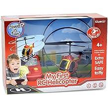 Silverlit 84703 - Mein Erster Hubschrauber, Rot/Gelb