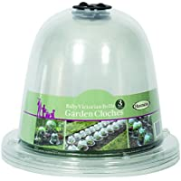 Haxnicks Lote de 3 Victorian Baby Bell Campanas de Crecimiento para jardín