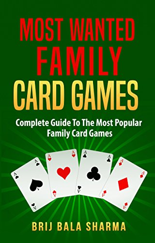 Descargar Desde Utorrent Most wanted family card games: Easy fun card games for whole family Como PDF