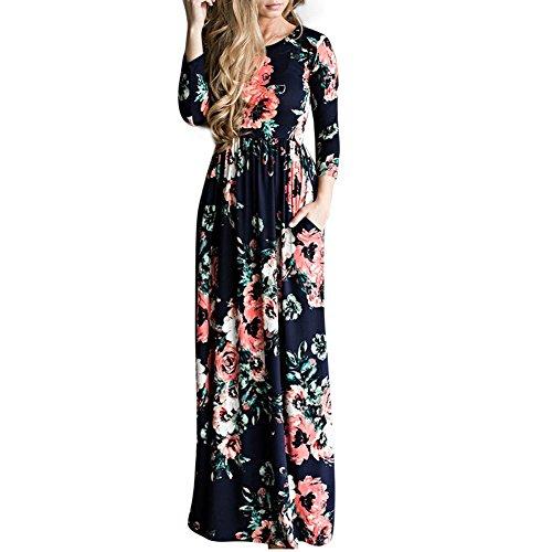 Lover-Beauty Ropa Mujer Vestido Largo Verano