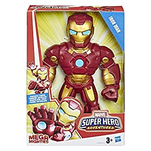 Hasbro Playskool Heroes Mega Mighties Avengers Mega Iron Man, Multicolor, E4150ES0
