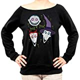 Felpa Fashion Halloween Trick Or Treat Nightmare Before - Film Choose ur Color - Donna-L-Nera