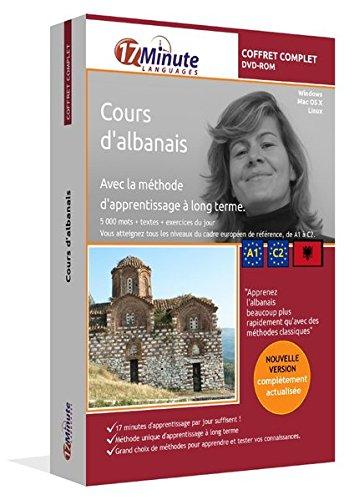 Cours d'albanais : coffret complet (A1-C2). Logiciel pour Windows/Linux/Mac OS X. Apprendre l'albanais avec la méthode unique d'apprentissage à long terme