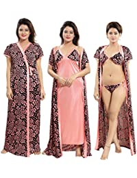 Amazon.in  Blacks - Nighties   Nightdresses   Sleep   Lounge Wear ... 2d7d175b9