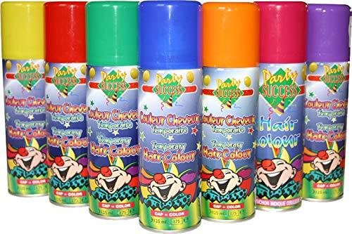 EULENSPIEGEL 819609 - Leuchtcolor Haarspray Lila, 125ml (Haarspray Kostüme Für Kinder)