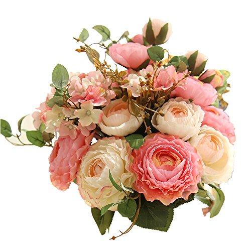kirinhomlife-fake-flowersartificial-flowers-plants-silk-plastic-rose-flower-arrangements-wedding-bou